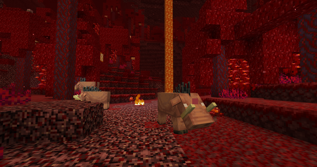 nether mobs
