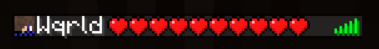 minecraft health op tab